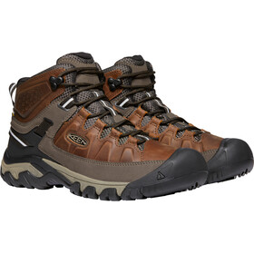 Keen Targhee III WP Mid Shoes Men chestnut/mulch